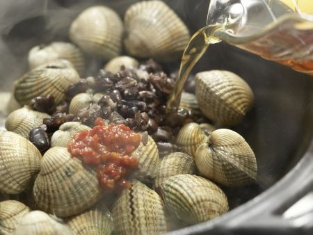 Chinesische Muscheln: Zubereitungsschritt 5