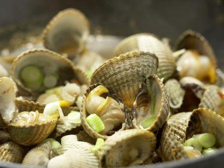 Chinesische Muscheln: Zubereitungsschritt 6