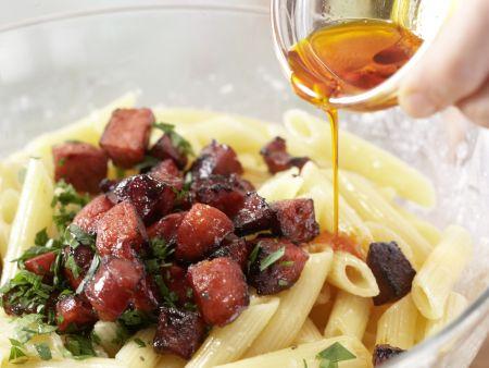 Chorizo-Pasta: Zubereitungsschritt 7