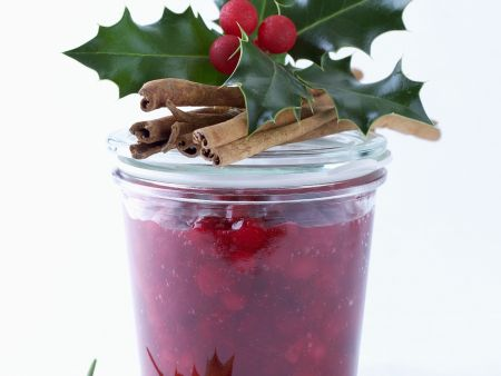 Chutney aus Cranberries
