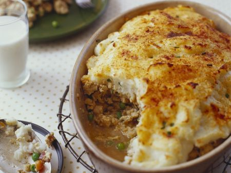 Cottage Pie mit Putenfleisch
