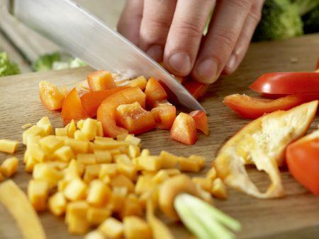 Couscous-Gemüse-Pfanne: Zubereitungsschritt 3