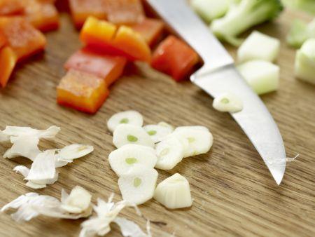 Couscous-Gemüse-Pfanne: Zubereitungsschritt 4