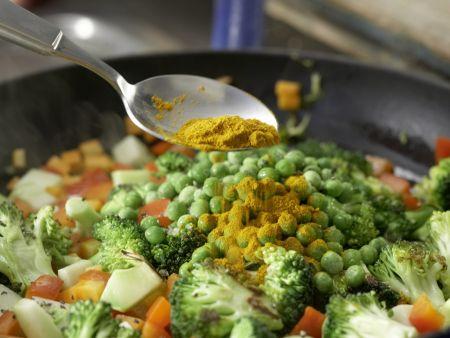 Couscous-Gemüse-Pfanne: Zubereitungsschritt 6