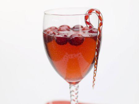Cranberry-Cocktail zu Weihnachten
