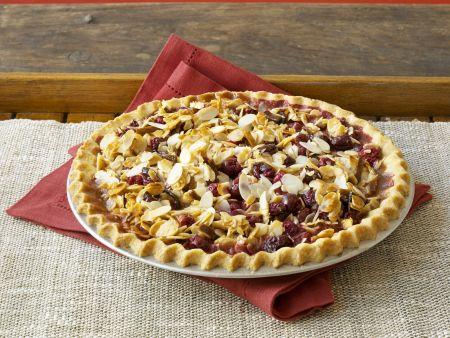 Cranberry-Mandel-Tarte