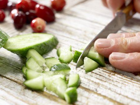 Cranberry-Melonen-Saft: Zubereitungsschritt 3