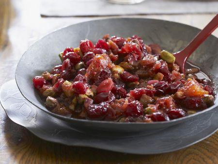 Cranberry-Pistazien-Soße