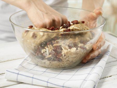Cranberry-Stuten: Zubereitungsschritt 6