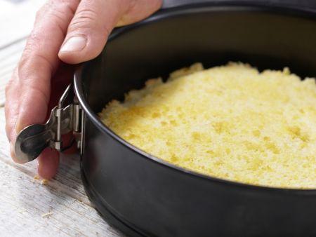 Cremetorte mit Karamell: Zubereitungsschritt 10