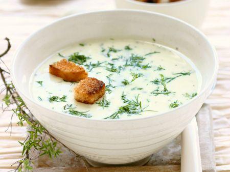Rezept: Cremige Käsesuppe