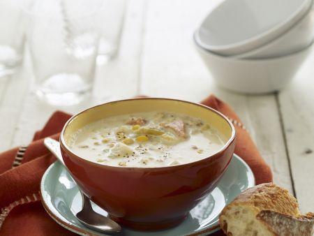 Rezept: Cremige Muschelsuppe aus den USA