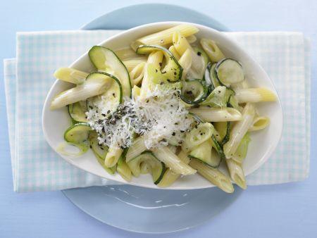 Cremige Zucchininudeln