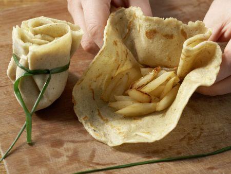 Crêpe-Päckchen: Zubereitungsschritt 13