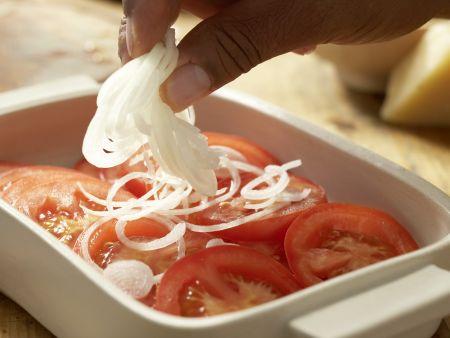 Crespelle mit Spinat und Ricotta: Zubereitungsschritt 3