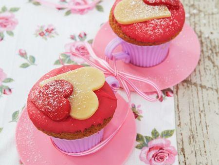 Cupcakes mit Marzipan