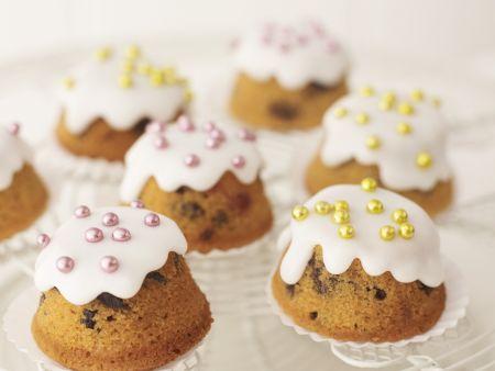 Cupcakes mit Zuckerdekor