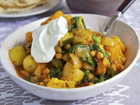 Curry aus Gemüse