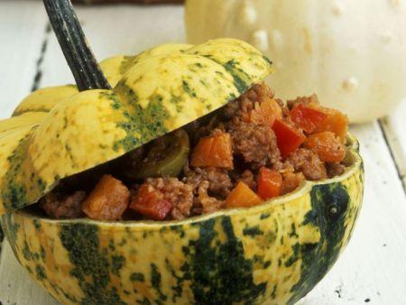 Curry mit grünem Gemüse
