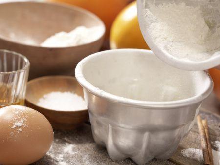 Dattelpudding auf Orangenkompott: Zubereitungsschritt 1