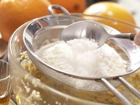 Dattelpudding auf Orangenkompott: Zubereitungsschritt 4