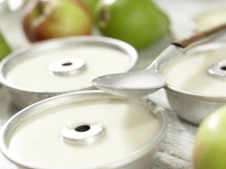 Dickmilch-Mandel-Creme: Zubereitungsschritt 4