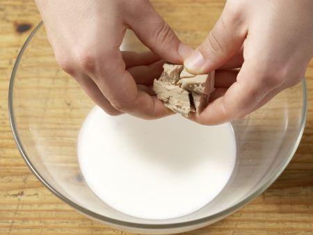 Dinkel-Brioches: Zubereitungsschritt 1