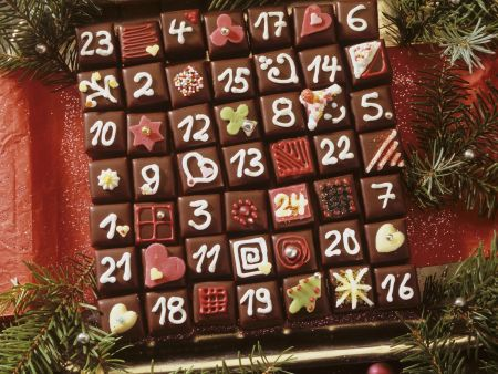 Rezept: Dominostein-Adventskalender