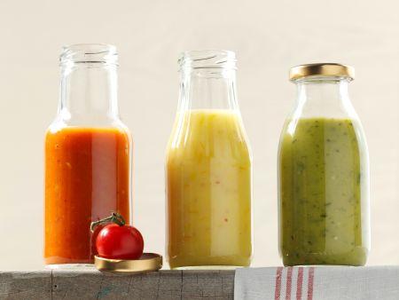 Dreierlei Tomaten-Ketchup