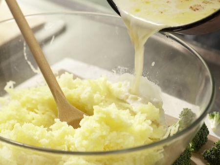 Ei im Kartoffelnest: Zubereitungsschritt 4