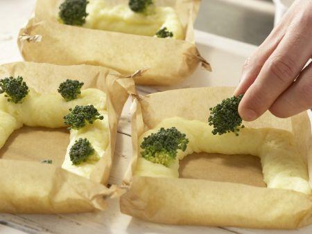 Ei im Kartoffelnest: Zubereitungsschritt 6
