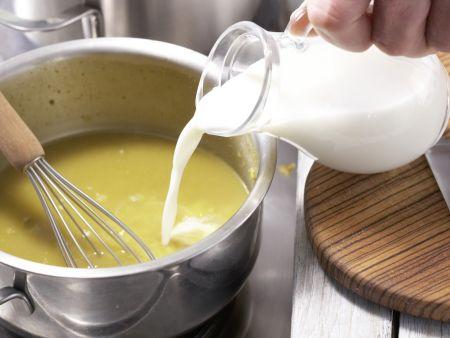 Eier in Curry-Senf-Sauce: Zubereitungsschritt 3