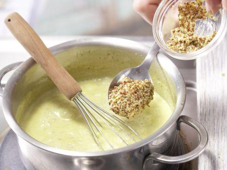 Eier in Curry-Senf-Sauce: Zubereitungsschritt 6
