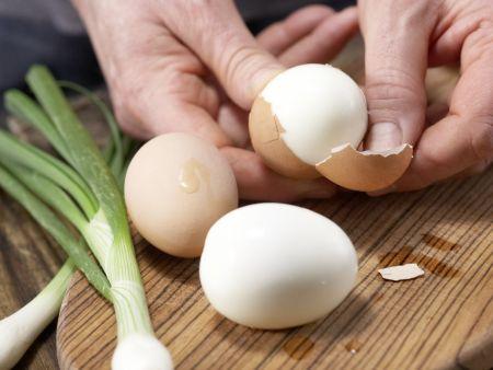 Eier-Spargel-Salat: Zubereitungsschritt 1