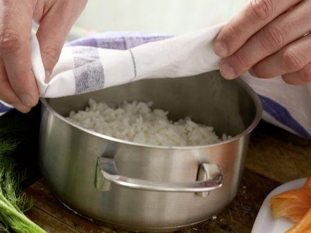 Eierbecher-Sushi: Zubereitungsschritt 2
