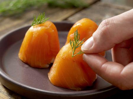 Eierbecher-Sushi: Zubereitungsschritt 9
