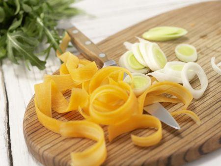Eiersalat mit Rucola: Zubereitungsschritt 2