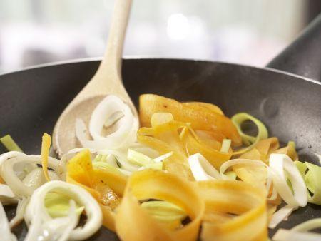 Eiersalat mit Rucola: Zubereitungsschritt 5
