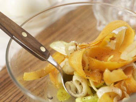 Eiersalat mit Rucola: Zubereitungsschritt 7