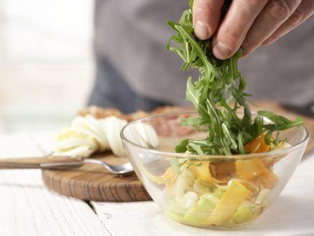 Eiersalat mit Rucola: Zubereitungsschritt 8