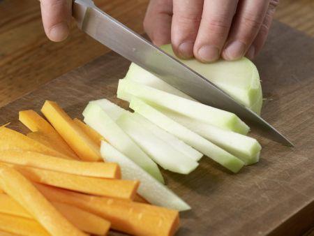 Eingelegtes Gemüse in Chilisud: Zubereitungsschritt 4