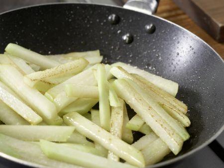 Eingelegtes Gemüse in Chilisud: Zubereitungsschritt 8