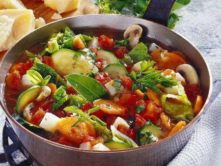 Eintopf mit verschiedenem Gemüse