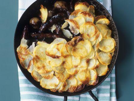 Englische Kartoffel-Wurst-Pfanne (Sausage Hotpot)