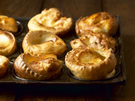 Englische Yorkshire Puddings