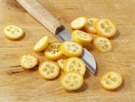 Entenbrustfilet mit Kumquats: Zubereitungsschritt 8