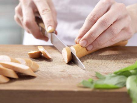 Erbsencremesuppe: Zubereitungsschritt 4