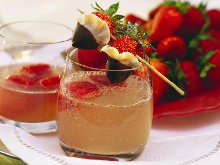 Erdbeer-Drink