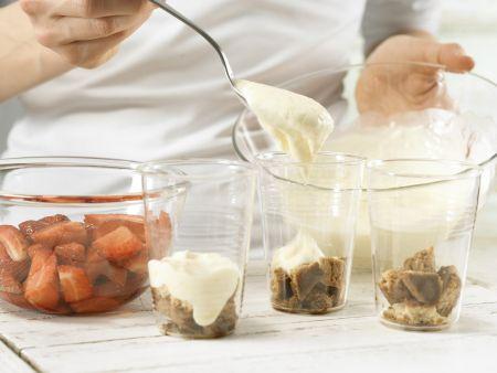 Erdbeer-Espresso-Schichtspeise: Zubereitungsschritt 6