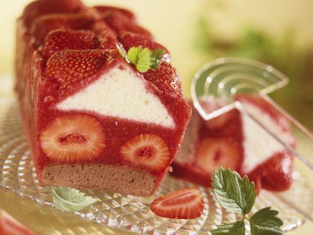 Erdbeer-Kastenkuchen